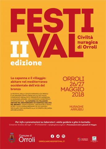 Festival della Civiltà Nuragica, Orroli 26 e 27 maggio